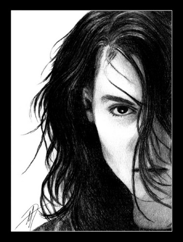 Johnny pencil drawing