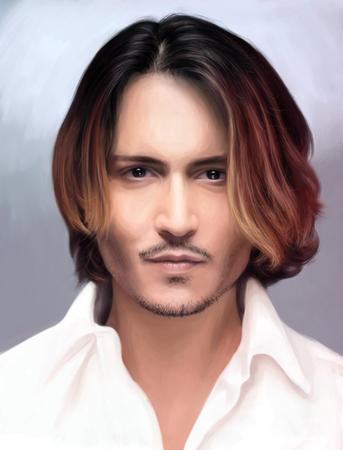 Johnny Depp wallpaper containing a portrait titled Johnny portrait
