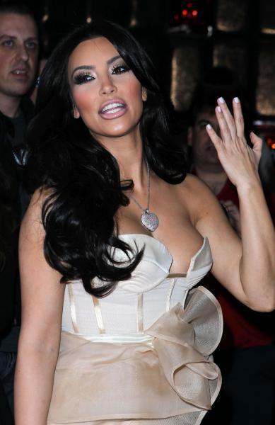 Kim Kardashian @ launch of AG Adriano Goldschmied's initiative, Vegas