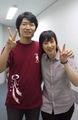 Konishi Katsuyuki and Mitsuki Saiga