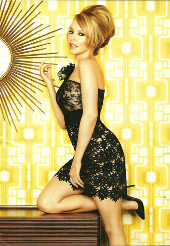 Kylie Minogue - Glamour Shoot - Jan 2011