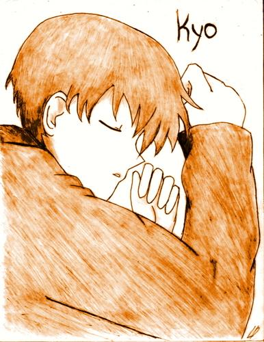 Kyo sleeps?