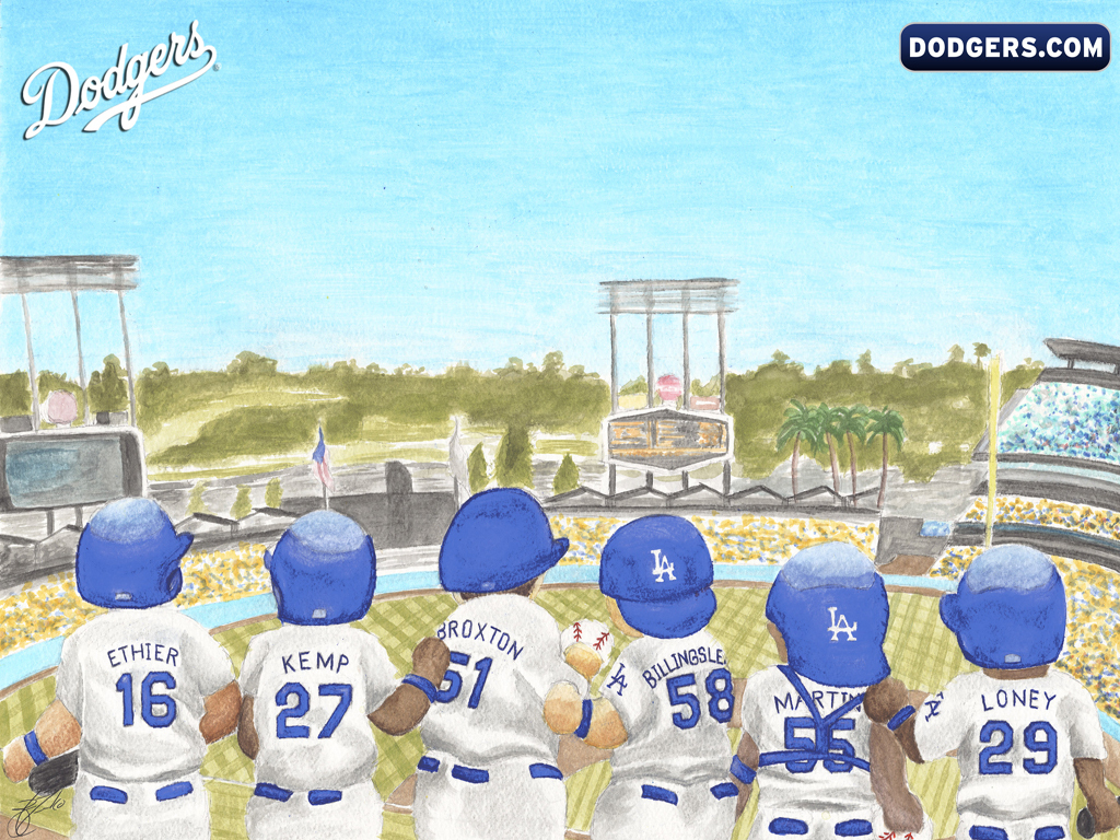 Los angeles dodgers la dodgers wallpaper