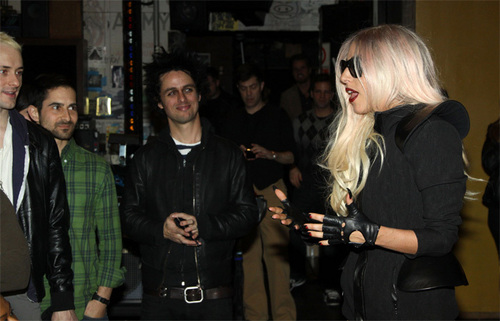 Lady Gaga Visits Broadway's 'American Idiot'