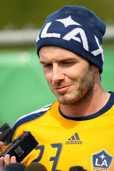 david beckham 2011 galaxy. Los Angeles Galaxy Training