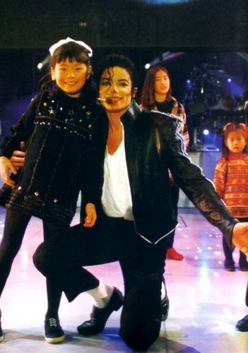 MJ :D and a KID awww