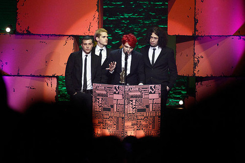 MY chemical romance at the NME awards