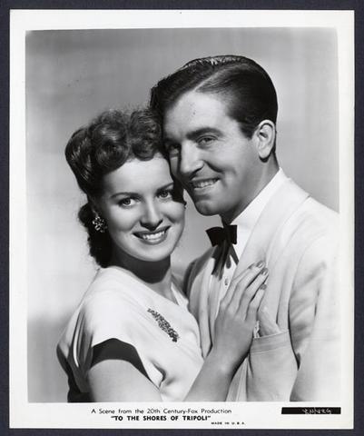 Maureen O'Hara & John Payne