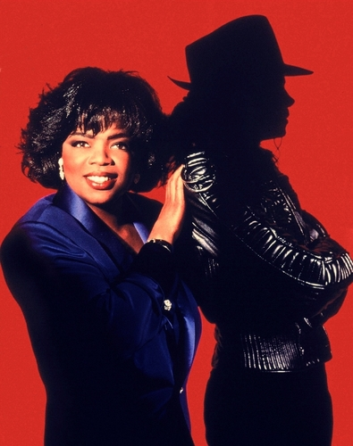 Michael Jackson Talks... To Oprah [Photoshoot]
