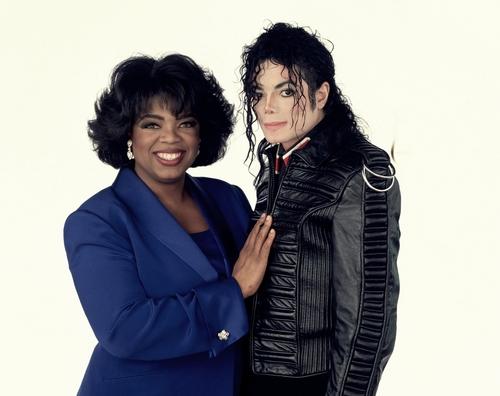 Michael Jackson Talks... To Oprah [Photoshoot]