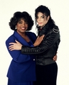 Michael Jackson Talks... To Oprah [Photoshoot] - michael-jackson photo