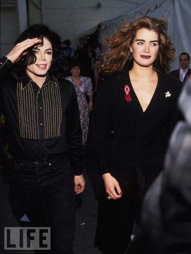 Michael Jackson and Brooke Shields [= <3