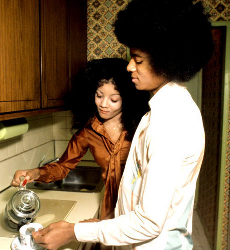 Mj with La toya