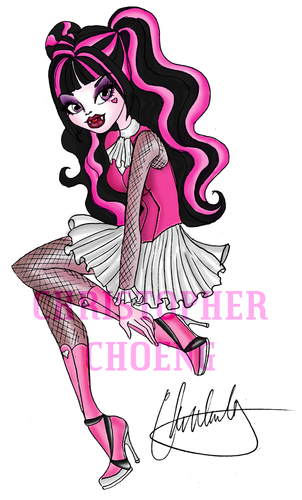 Monster High 粉丝 Art!
