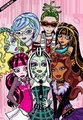Monster High fã Art!