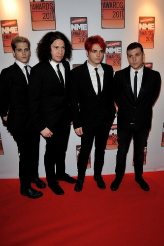 My chemical romance at NME awards