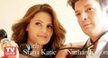 Nathan & Stana TV Guide  - castle photo