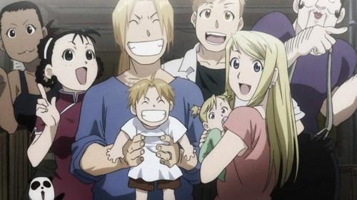 New family picha