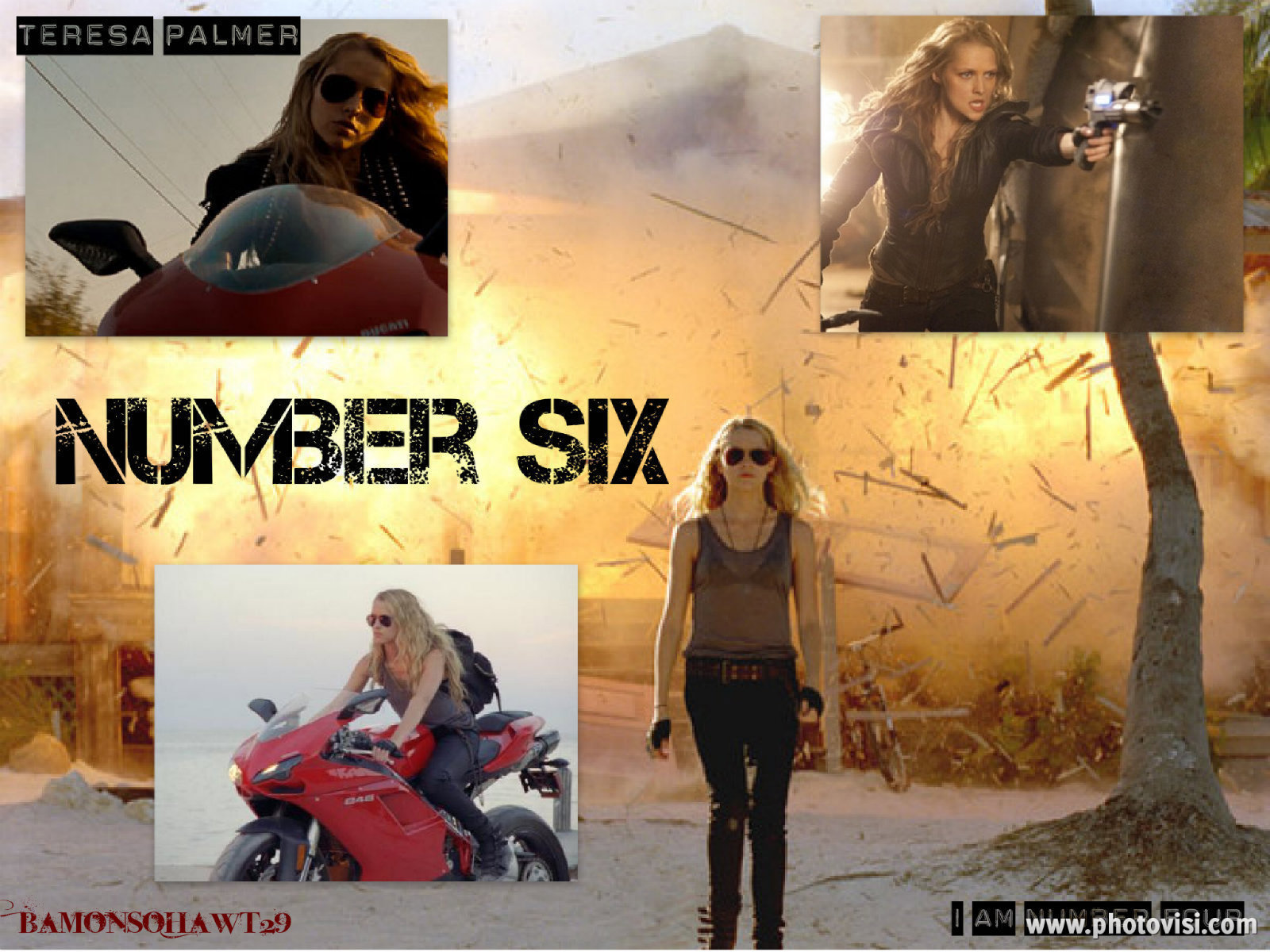 Number Six images Number Six Wallpaper HD wallpaper and background ... I Am Number Four Movie Poster