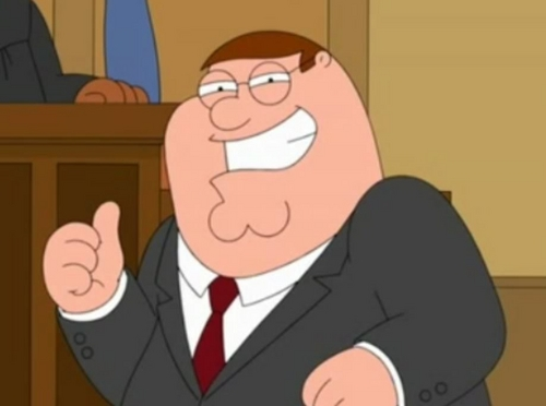 Family Guy پیپر وال containing عملی حکمت entitled Peter Griffin!