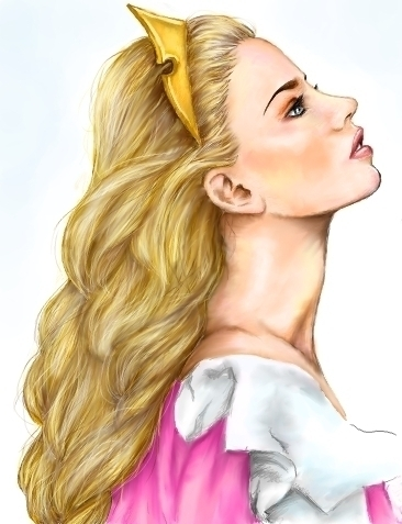 Princess Aurora achtergrond with a portrait called Princess Aurora