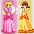 Princesses - princess-peach-and-daisy photo