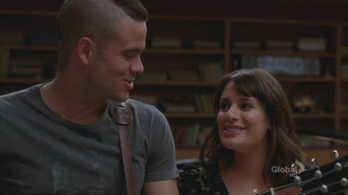 Puck and Rachel 2x11 - rachel-and-puck Screencap