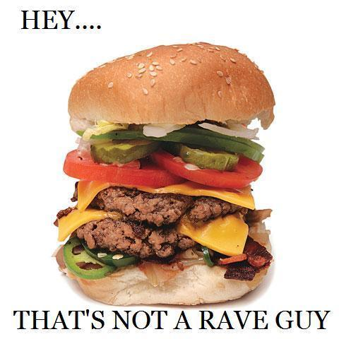 Rave Guy Disappointment
