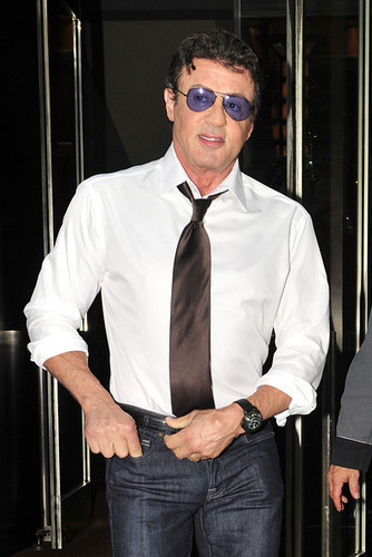 Sylvester Stallone wallpaper containing a business suit entitled S. Stallone