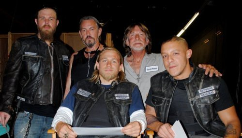 Sons Of Anarchy wallpaper probably with a green beret titled SOA Cast