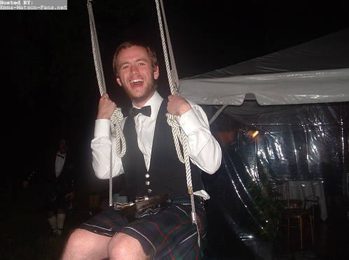 Sean in kilt
