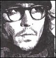 Secret Window/Mort Rainey pencil drawing
