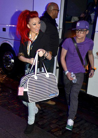 Sizzling Hot Zayn Wiv Rapper Cher (Zayn Is Wearing Liams Hat Aww Bless) Chayn 100% Real :) x