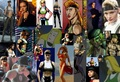 Sonya through the years collage - mortal-kombat fan art