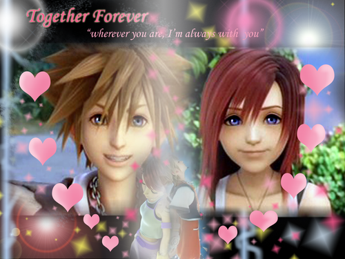 Sora and Kairi Together 4ever