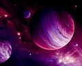 Space...the Pink frontier - pink-color wallpaper