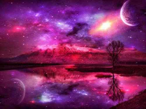 Pink color images space the pink frontier wallpaper - Pink space wallpaper ...