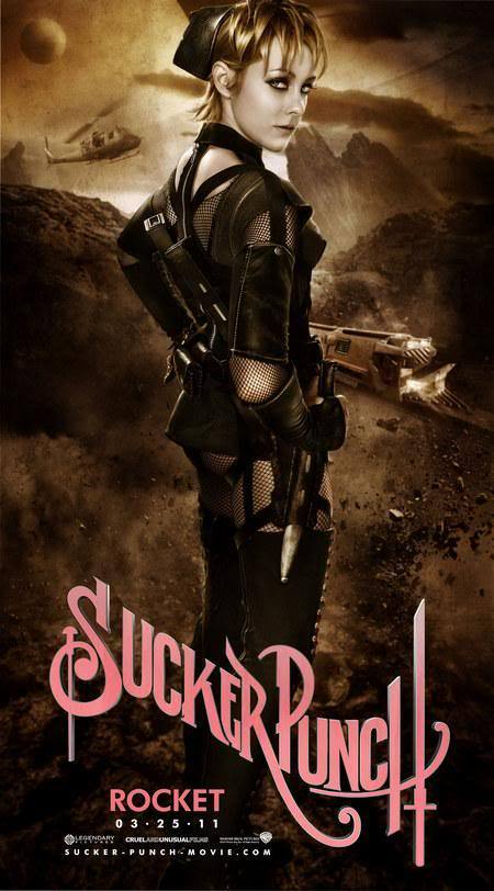 Sucker Punch Official Movie Poster