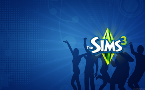 The Sims 3 wallpaper called Tapety