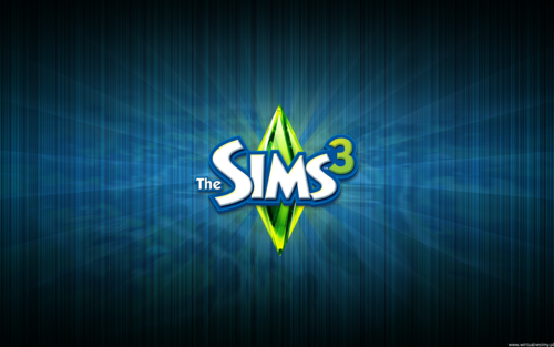 The Sims 3 wallpaper titled Tapety