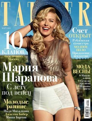 Tatler Russia - tennis Photo