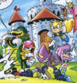 Team Chaotix - vector-the-crocodile photo