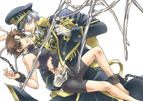 Teito and Ayanami
