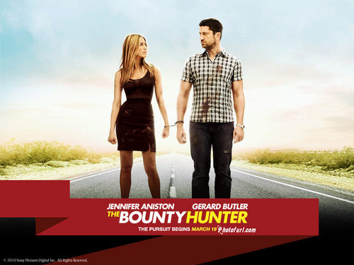 Jennifer Aniston wallpaper probably containing a carriageway and a portrait called The Bounty Hunter