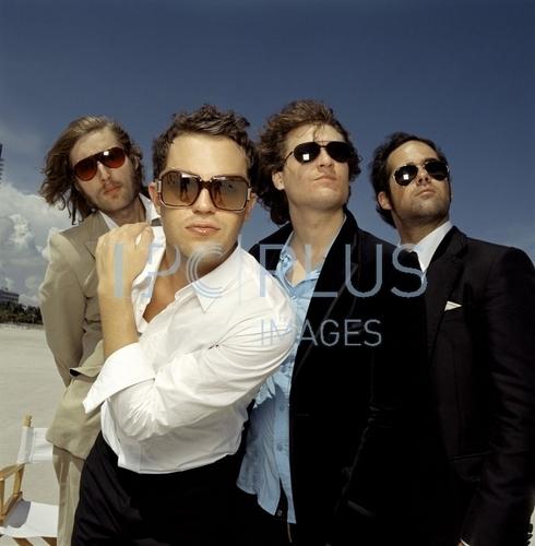 The Killers photoshoot