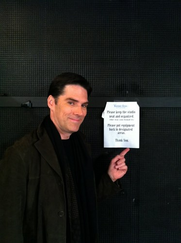 Thomas Gibson wallpaper possibly containing a business suit titled Thomas in New York (going to the WW show)