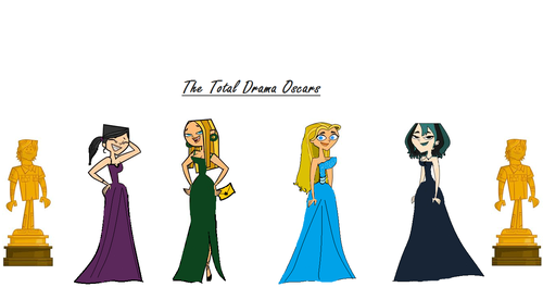 Total Drama World Tour দেওয়ালপত্র called Total Drame Oscars!
