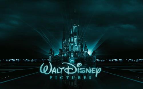 Tron 迪士尼 城堡