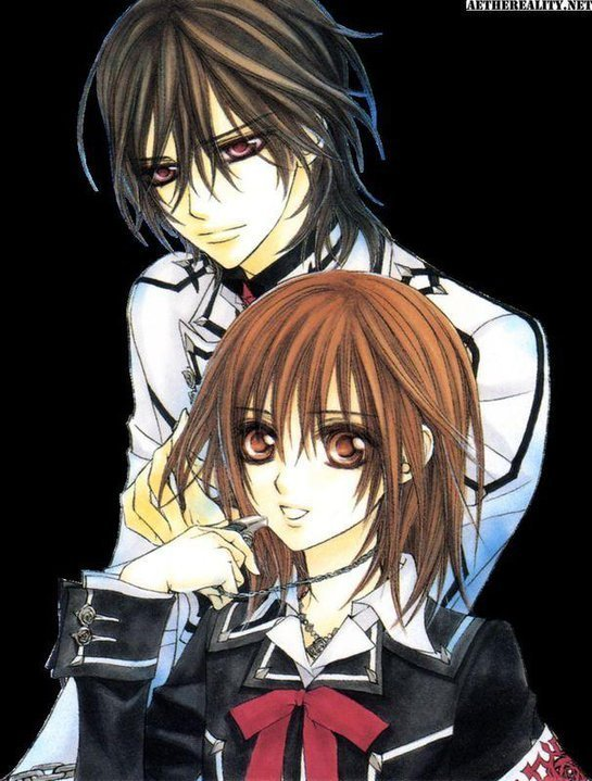 Kaname vs Zero Vampire KnightZero And Kaname Vampire Knight