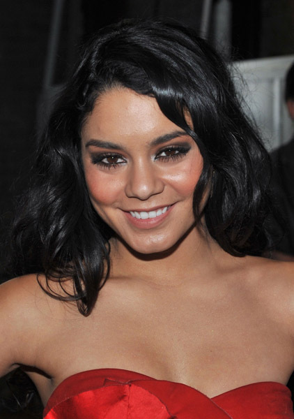 vanessa hudgens red dress. Vanessa Hudgens - Red dress at